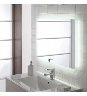 Specchio led retroilluminato satinato 60x80