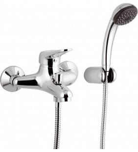 Miscelatore vasca remer con doccino e flessibile - serie kiss Remer K02