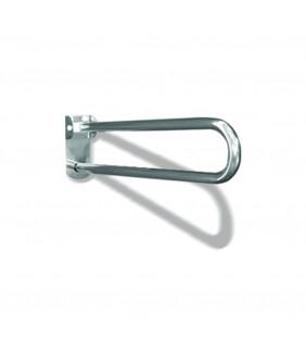 Maniglione barra ribaltabile con piastra lunga cm 60 inox lucido Goman XB12/93