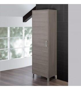 Colonna bagno armadio 60x35x170cm rovere scuro