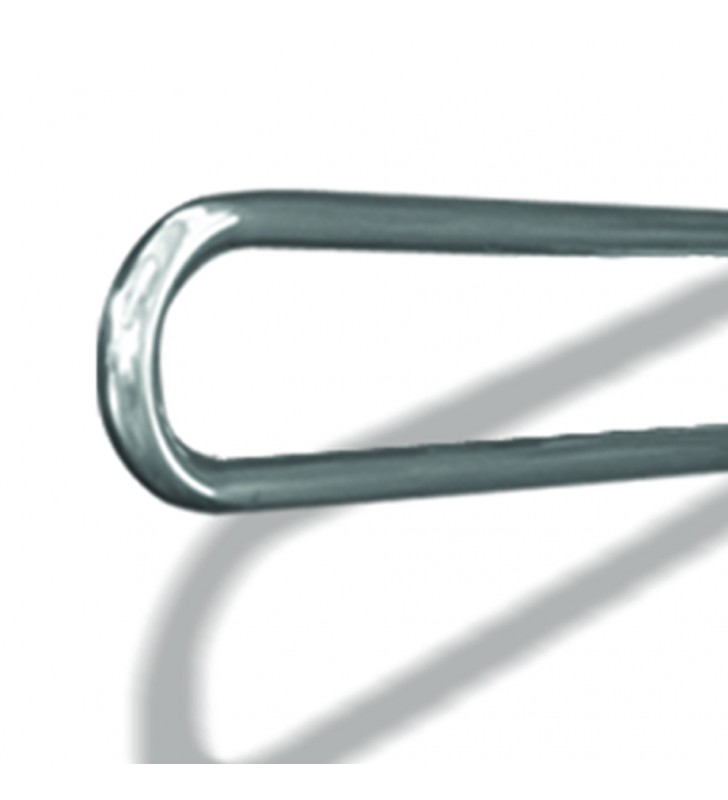 Maniglione barra ribaltabile con piastra lunga cm 80 inox lucido Goman XB13/93