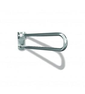 Maniglione barra ribaltabile con piastra lunga cm70 inox lucido Goman XB70/93