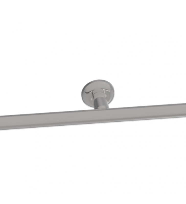 Maniglione cm.130 di sicurezza per bagni disabili inox lucido, goman Goman XM130/93
