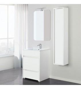 Mobile bagno family 60cm bianco/bianco laccato