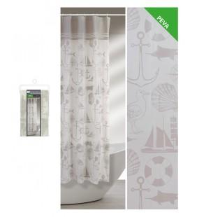 Tenda doccia fantasia marinara 240 x 200 Feridras 187083