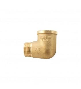 Gomito m.f. ott.giallo RR 451OG X