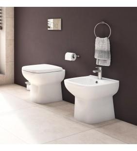 Set vaso wc e bidet a filo muro serie River