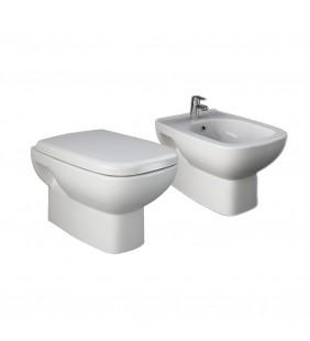 Set vaso wc e bidet sospesi - Serie River
