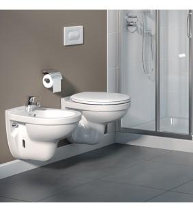 Set vaso wc e bidet sospesi quarzo/palio