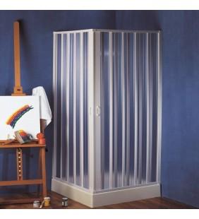 Box doccia ad angolo 80-60x80-60 h185 giove apertura centrale