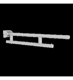 Barra maniglione ribaltabile cm 75 bianco opaco Goman LEO-B75/09