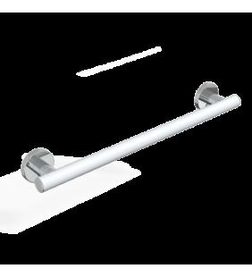 Maniglia 50 cm deluxe goman bianco opaco cromo LEX-M50/30