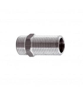 Vite doppia prolungata cromata 1/3 mm 50 RR 52112L X