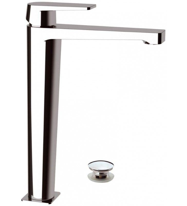 Dream remer miscelatore monocomando lavabo alto con o senza piletta click-clack Remer D1XL