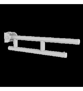 Barra maniglione ribaltabile cm 60 bianco leonardo Goman LEO-B60/01