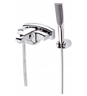Rubinetto vasca esternocon set doccia duplex torch - serie atmos Remer A02