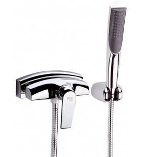 Rubinetto esterno per doccia con set doccia duplex torch - serie atmos Remer A38