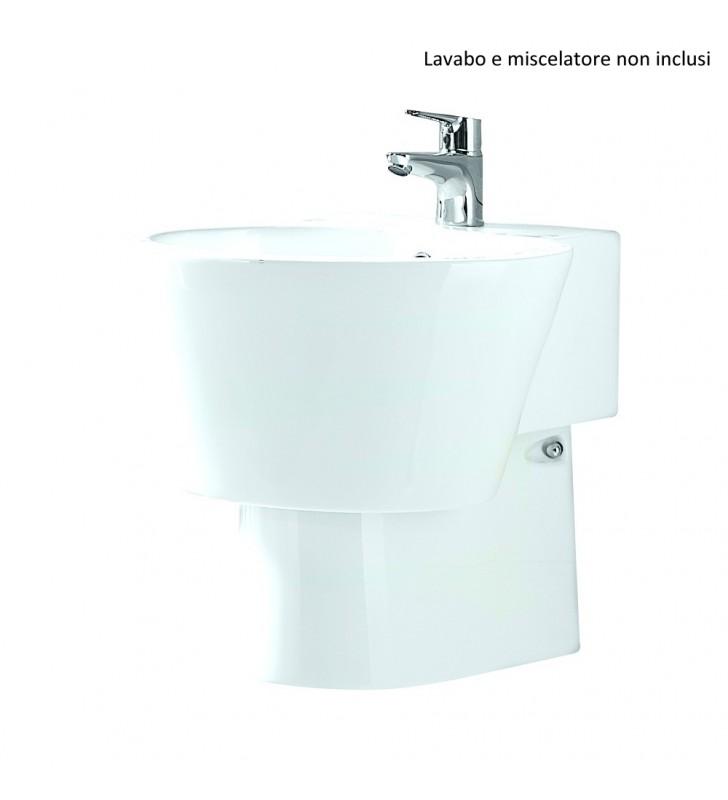 Semicolonna lavabo - Serie Stilo