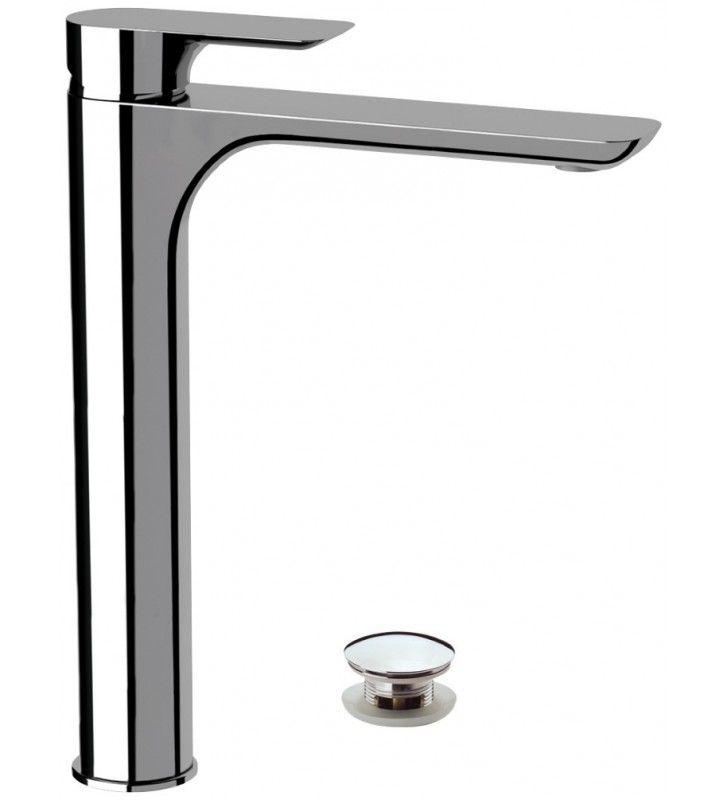 Rubinetterie remer miscelatore alto per lavabo serie infinity Remer I1XL