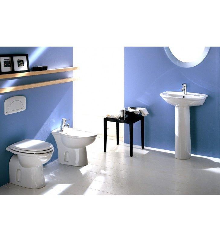 Sedile e coperchio abs - serie fiore Rak Ceramics SCACER0091SE