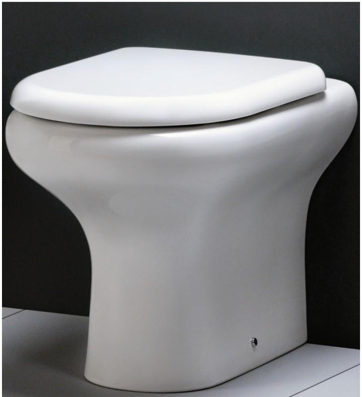 Sedile e coperchio abs per vaso filo muro - serie touring Rak Ceramics SCACER0243SE