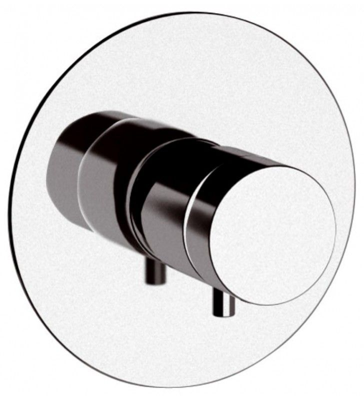 Rubinetto termostatico da incasso doccia senza deviatore - serie minimal thermo Remer NT30