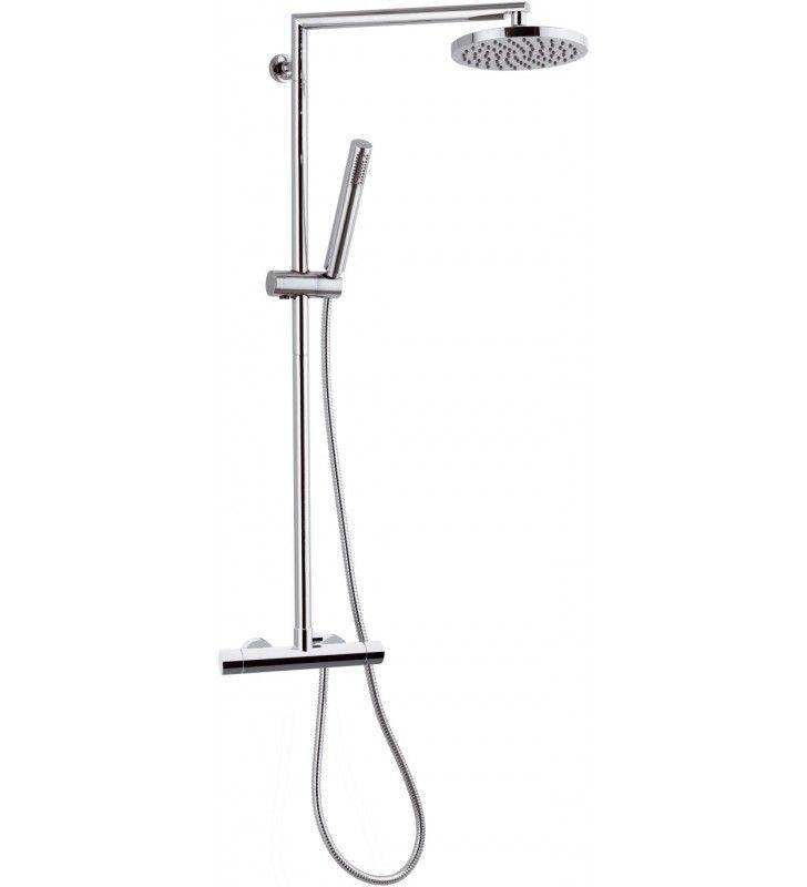 Colonna doccia termostatica minimale - serie minimal thermo Remer NT37B