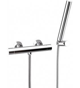 Rubinetto termostatico esterno doccia - serie minimal thermo Remer NT39