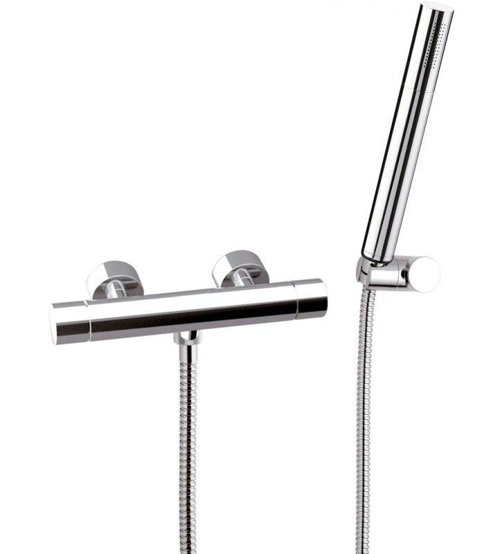 Rubinetto termostatico esterno doccia - serie minimal thermo