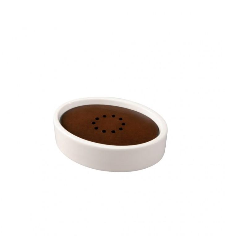 Porta sapone bianco - serie egg Aquasanit QA2110WW