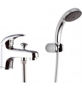 Rubinetto lavabo/vasca con deviatore integrato e kit doccia - serie ten Remer T03