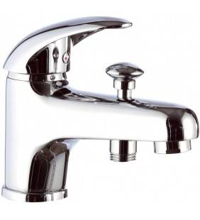 Rubinetto lavabo/vascacon deviatore, senza kit doccia - serie ten Remer T04