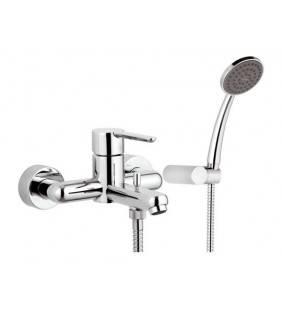 Miscelatore monocomando vasca con accessori elegant Mariani Rubinetterie B00230NO00