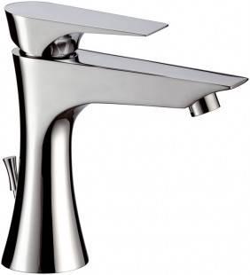 Diva rubinetto miscelatore per lavabo design moderno minimal Daniel Rubinetterie DV605CR