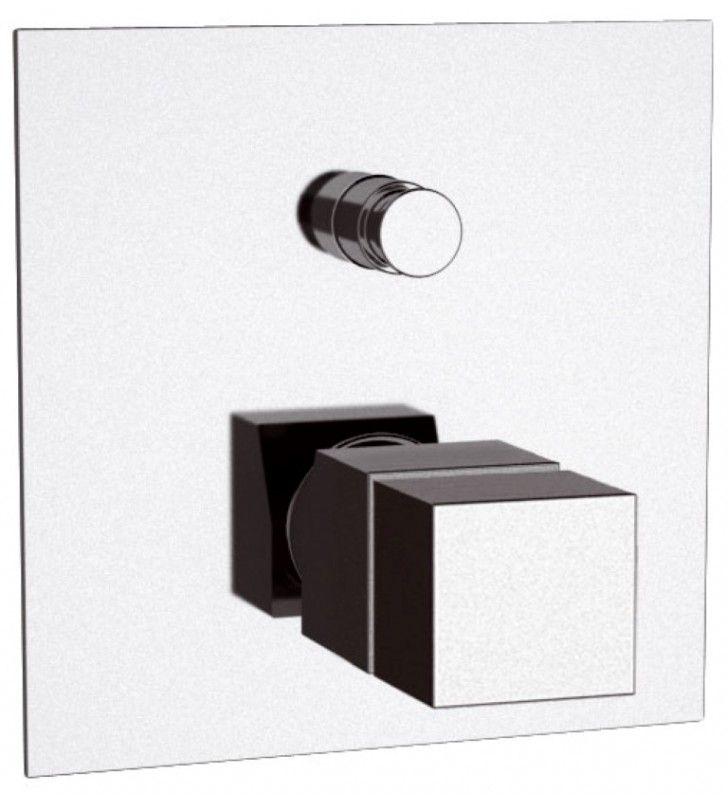 Rubnetto termostatico vasca doccia da incasso serie - Rubinetto vasca da bagno prezzi ...