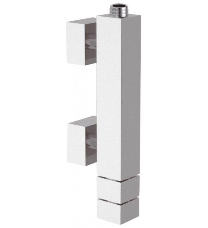 Gruppo doccia a muro termostatico verticale - serie qubika thermo