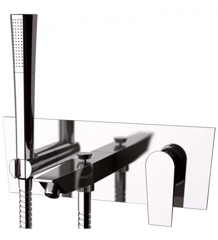 Miscelatore per vasca da incasso con kit doccia - Serie Diva