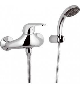 Rubinetto esterno per doccia con doccia duplex - serie project Remer P39