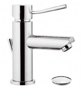 Miscelatore monocomando lavabo con o senza scarico serie Minimal REMER Remer N1X