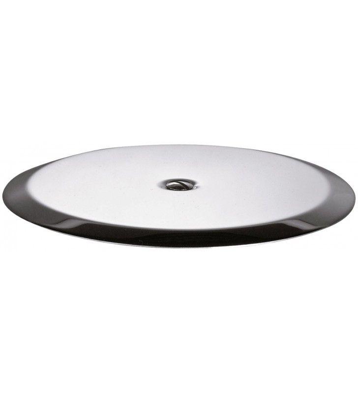Copritappo inox diam. 135 mm, con vite da 1/4 RR 930