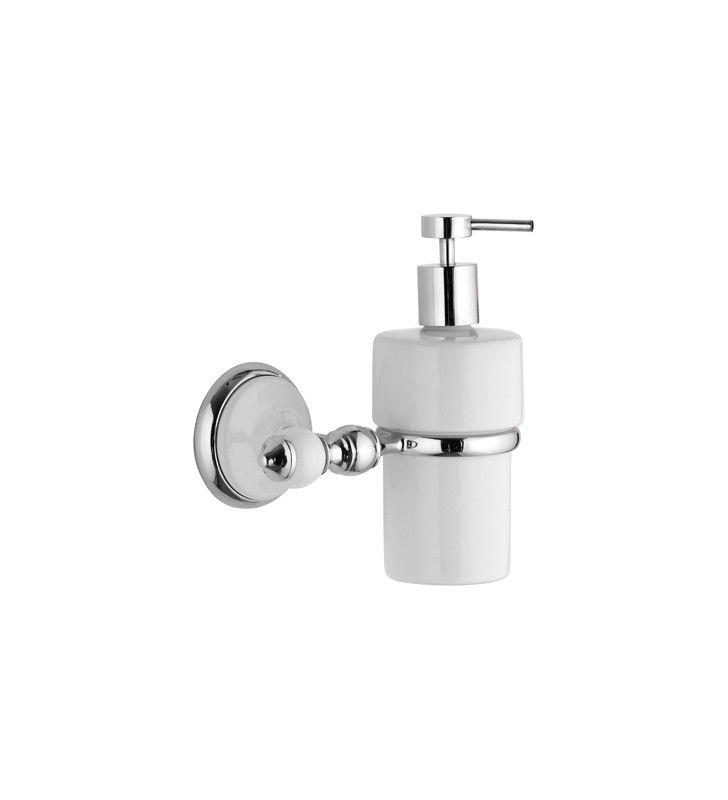 Dispenser in ceramica bianco - serie epoca Remer EP13