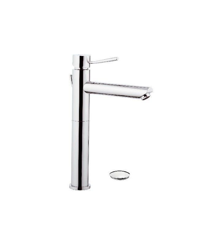 Minimal rubinetto lavabo alto con bocca lunga n10lxl Remer N1XLXL