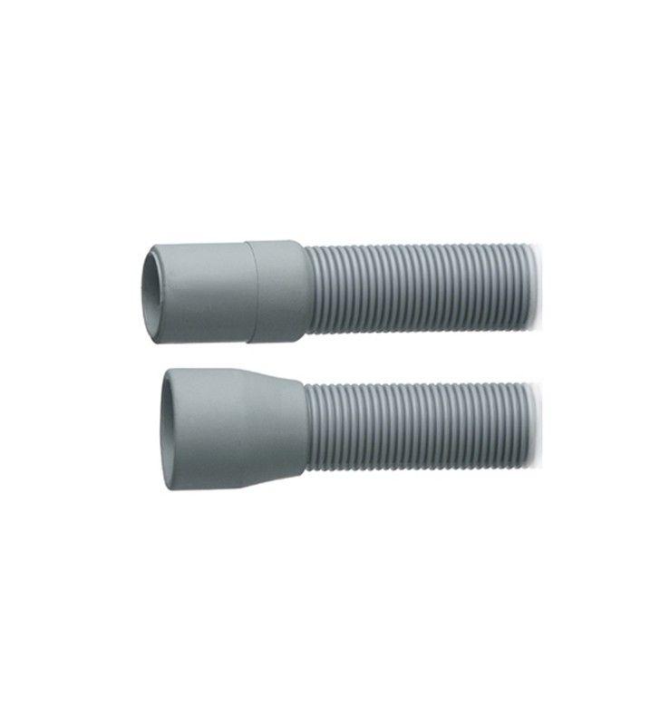 Tubo di scarico per lavatrice in plastica spiralato 100 cm RR 305B100