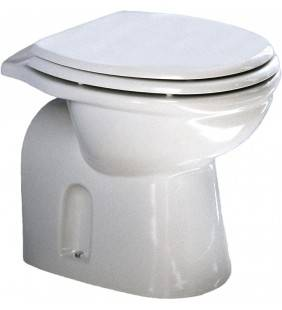 Vaso scarico a pavimento a terra - serie fiore Rak Ceramics SCACER0068VA