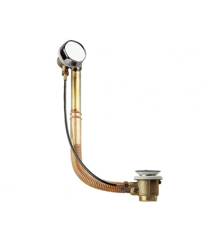 Colonna di scarico automatica con filo esterno e tubo in rame senza dado e codulo RR 96