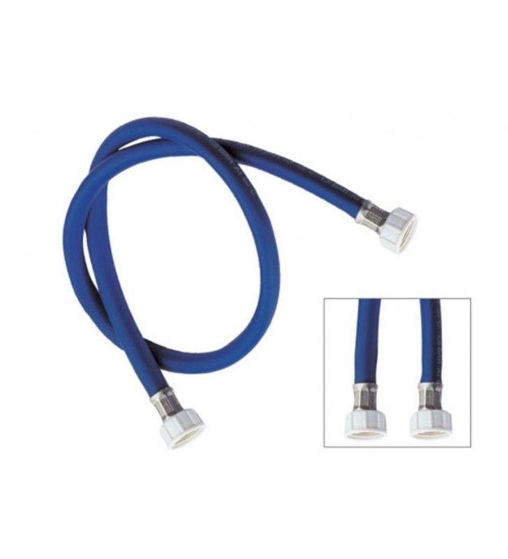 Tubo di carico per lavatrice, colore blu 150 cm RR 290150BL