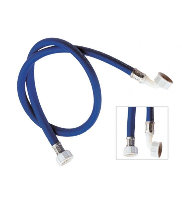 Tubo di carico per lavatrice, colore blu con curvetta 500 cm RR 291500BL