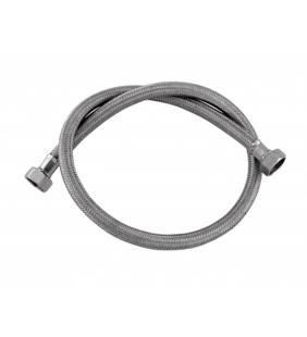 Tubo di carico in treccia di acciaio inox gigante per lavatrice 150 cm RR 293150