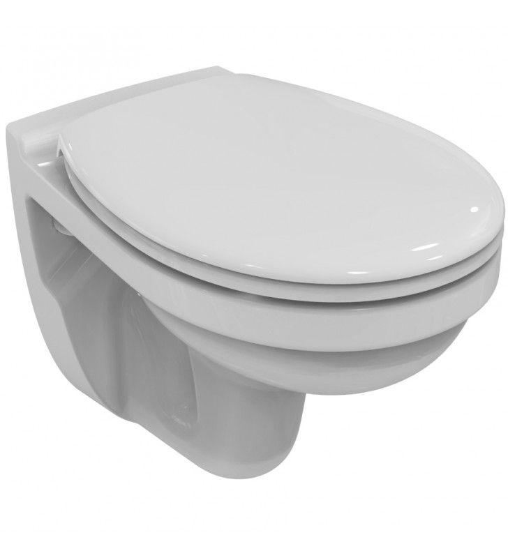 Vaso serie sospeso serie quarzo/palio con scarico a parete (MM1) Ideal Standard U00542