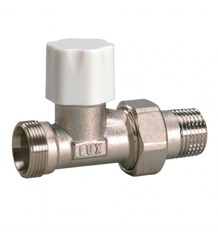 Detentore diritto per tubi rame multistrato d1-2 pollice Idrobric CARVAL0023VA